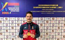 Damián Quintero cierra el año con un oro en Shanghái