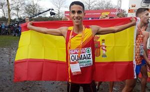 El nerjeño Ouassim Oumauiz, subcampeón de Europa de cross sub-20