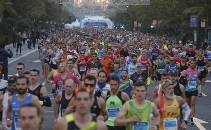Las mejores imágenes del Maratón de Málaga 2018