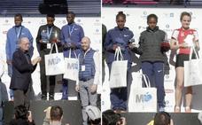 El Maratón de Málaga más rápido termina con dominio etíope y récord de la prueba