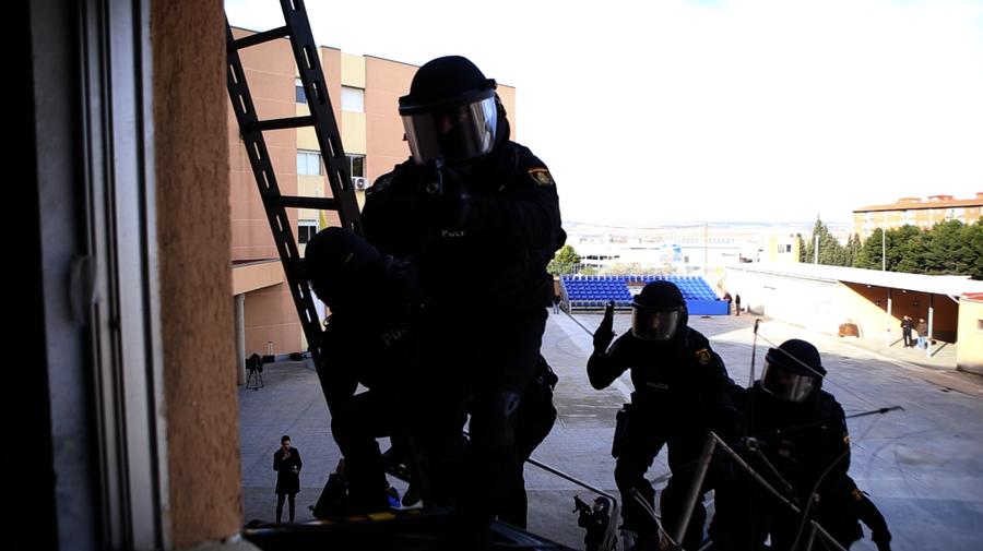 El GEO, grupo de élite de la Policía