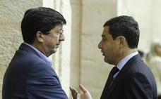 Moreno y Marín celebrarán mañana la primera reunión para un acuerdo PP-Cs
