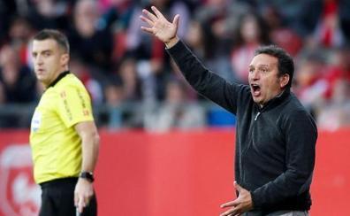 El Girona, fuego real contra Gaizka Garitano para su debut en San Mamés