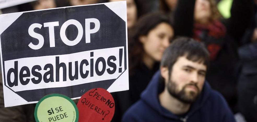 Crecen los desahucios por impago del alquiler un 13% en Málaga
