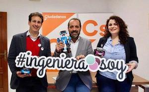 Cs propone que Málaga presente su candidatura para acoger la World Robot Olympiad, una competición de robótica educativa