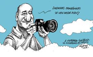 El último adiós de Idígoras a Fernando González