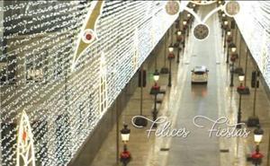 Así felicita la Policía Local de Málaga la Navidad