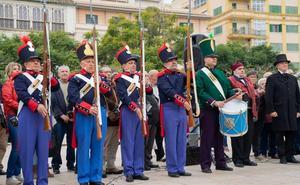 Málaga rinde homenaje al general Torrijos en el 187 aniversario de su fusilamiento