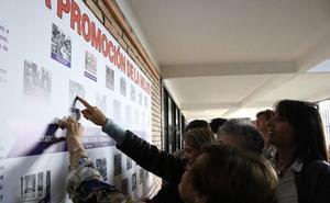 Una exposición ilustra los 75 años del colegio de Gamarra