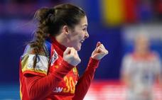 La malagueña Sole López se despide del Europeo como máxima goleadora ante Noruega