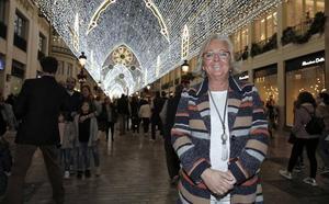 Teresa Porras: «No moriremos de éxito, hasta la oposición sabe del valor de las luces de la calle Larios»