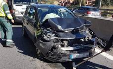 Al menos un herido en una colisión múltiple en la A-7, a la altura de Estepona