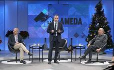 Tertulia en 'La Alameda' con Enrique Linde y Pedro Moreno Brenes