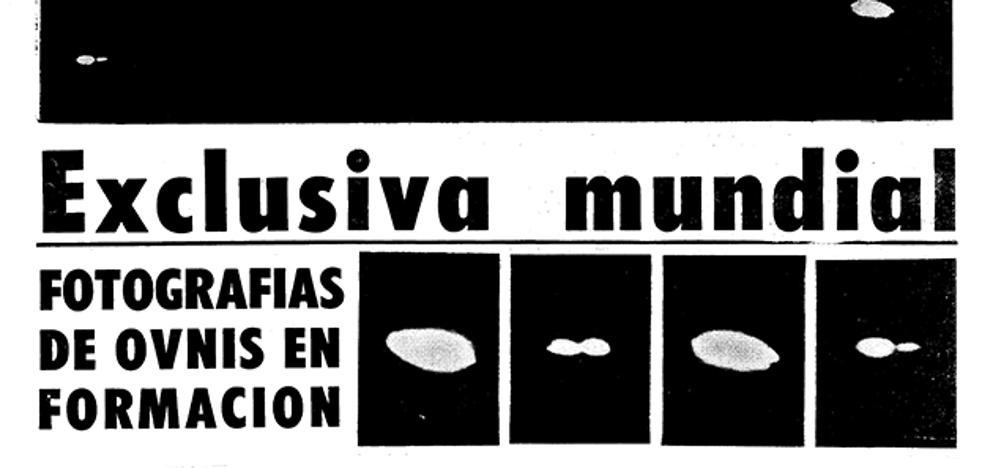 Recrean el avistamiento de ovnis publicado por SUR en 1974