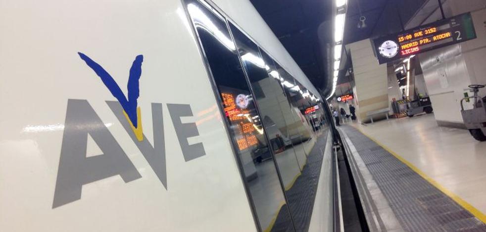La huelga de Renfe deja sin salir hoy ocho trenes AVE entre Málaga y Madrid