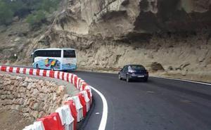 El Caminito del Rey recupera la normalidad al reabrir la carretera que une sus accesos