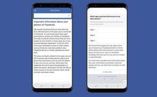 Facebook reconoce otro fallo de seguridad que puso al descubierto fotos privadas de sus usuarios