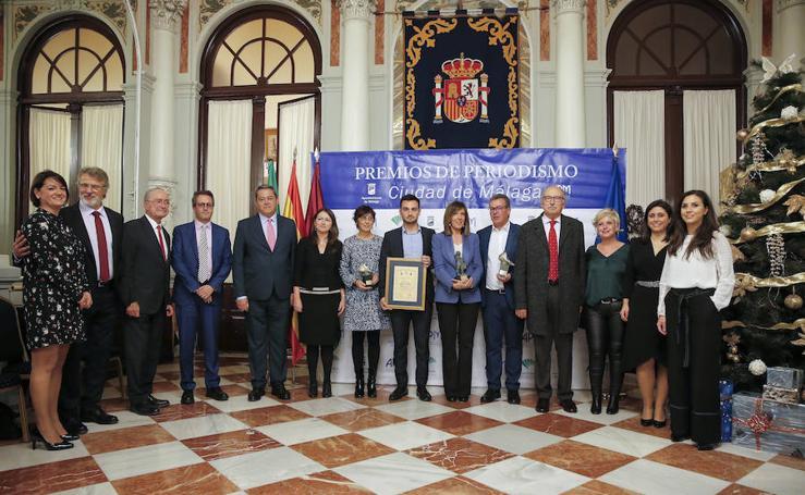Así fue la emotiva entrega del Premio Ciudad de Málaga