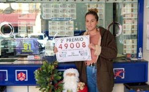 Vendido en Puerta Blanca el segundo premio de la Lotería Nacional