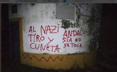 Atacan con pintadas la finca de Morante por su apoyo a Vox: «Al nazi tiro y en la cuneta»