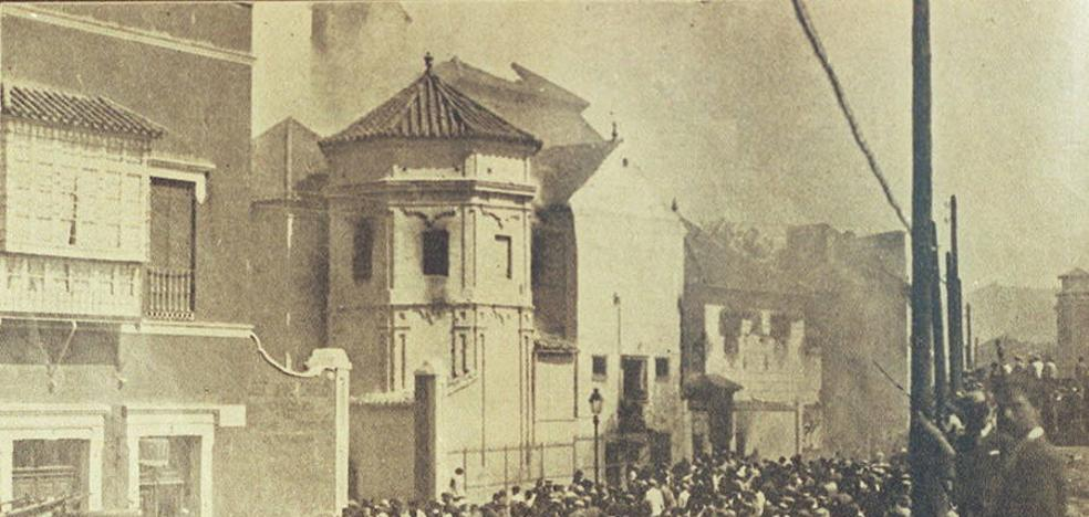 José Jiménez Guerrero: «El Cristo de Mena se perdió en 1931, aparecieron los restos carbonizados de la imagen»