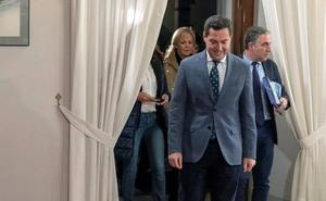 PP y Cs vuelven a reunirse hoy para cerrar un acuerdo en Andalucía pese al ruido de las diferencias