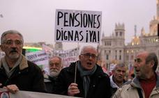 Los pensionistas cobrarán 13,5 euros extra en enero al confirmarse la revalorización del 1,7%