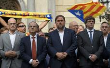 Sánchez, Turull, Rull y Forn dan por finalizada la huelga de hambre 20 días después