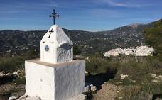 La Cruz de Pinto, un cerro entre Nerja y Frigiliana a medio camino entre la historia y la leyenda