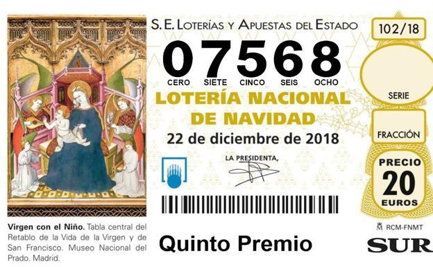 Imagenes Loteria Navidad.Loteria Navidad 2018 El Quinto Premio De La Loteria De
