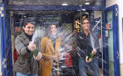 El Gordo de la Lotería de Navidad deja 13,6 millones en la provincia de Málaga
