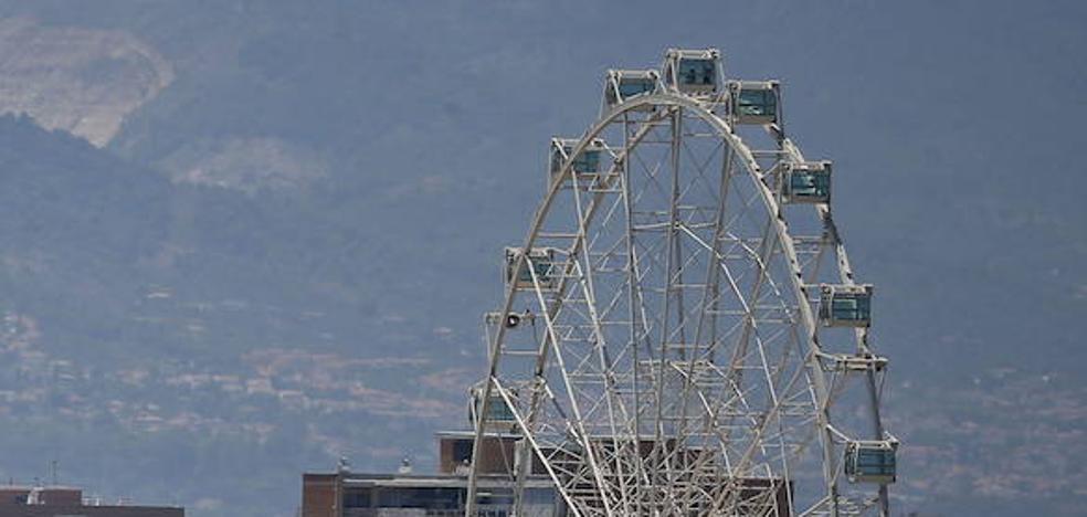 La noria del Puerto de Málaga termina el año con 185.000 visitantes, un 44% más que cuando abrió