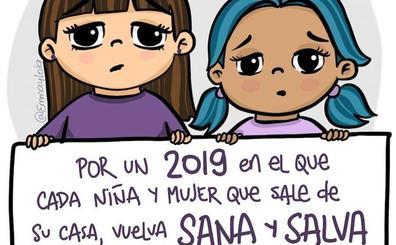 Al menos 47 asesinadas por violencia de género en España en 2018