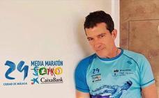 Antonio Banderas, padrino de lujo de la Media Maratón, que se celebrará en marzo