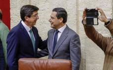 Fotos de la sesión constitutiva en el Parlamento de Andalucía