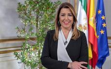 Susana Díaz alerta de la amenaza de «regresión histórica» en Andalucía en alusión a Vox