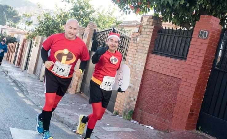 Más de 700 corredores participan en los diez kilómetros solidarios de la San Silvestre Palma Palmilla de Málaga