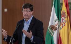 Juan Marín cree que «sería bueno» que la investidura salga en primera votación