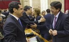 PP-A y Cs ponen sobre la mesa sus propuestas de estructura del nuevo Gobierno, que prevén cerrar la próxima semana