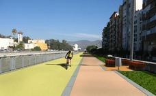 La Junta tarda seis meses en publicar el diseño de la vía verde del Guadalmedina