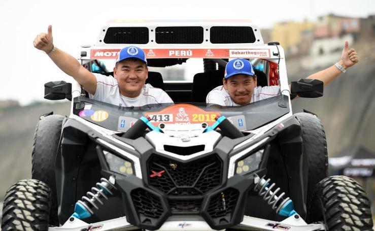 Las imágenes de los preparativos del Rally Dakar 2019