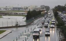 El Ayuntamiento de Málaga mejorará el drenaje de la N-340 para evitar que se anegue