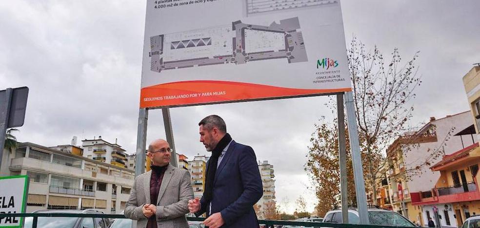 Mijas iniciará en abril la construcción del primer parking de Las Lagunas