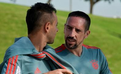 Ribéry, sancionado con una «elevada multa» por insultos y excesos en las redes