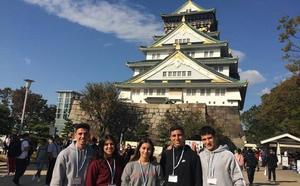 Jóvenes embajadores malagueños en Japón