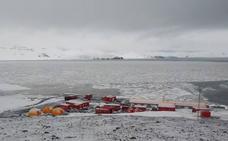 Los militares españoles se llevan la San Silvestre y los Reyes Magos a la Antártida