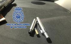 A prisión por llevar siete kilos de cocaína en el coche y tenencia ilícita de armas, entre ellas un bolígrafo pistola
