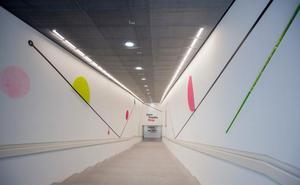 Darko intervendrá la escalera de acceso al Pompidou