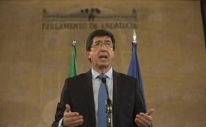 Juan Marín: «Yo no tengo ningún acuerdo ni ninguna negociación con Vox»