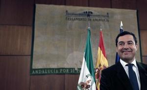 Juanma Moreno: «Para llegar a un acuerdo todos hemos tenido que ceder algo»